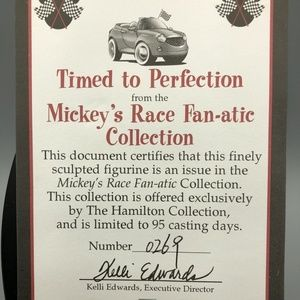 Disney Accents - Mickey's Race Fan-atic Timed To Perfection Disney